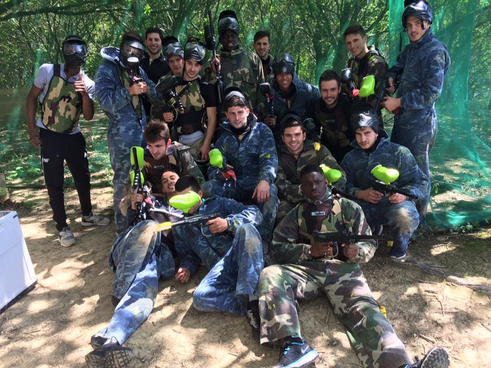 Paintball terrain au Pays Basque